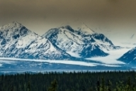 Matanuska Glacier and way to Anchorage