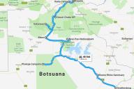 Route Botswana
