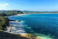 View from Merese Hill, Lombok