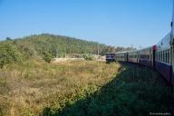 Zugfahrt Mandalay - Hsipaw