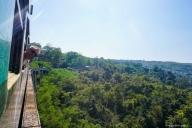 Zugfahrt Hsipaw - Pyin U Lwin
