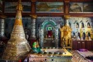 Shwe Indein Pagoda, Inle Lake, Myanmar