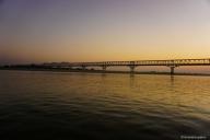 Schiffahrt Bagan - Mandalay