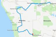 Route Namibia