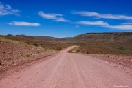 on the road, Namibia