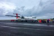 Flug Huahine - Bora Bora