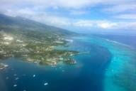 Flug Tahiti - Cook Island